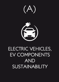 Electric vehicles, EV components and sustainability