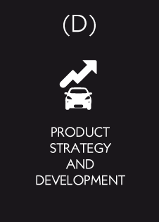 Product strategy and development